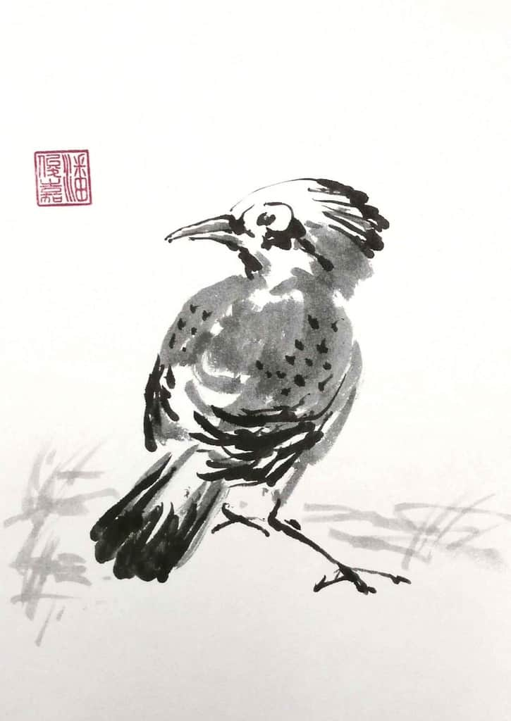 Bird (monochrome)